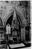 The Cathedra (bishop's throne) in 1924
