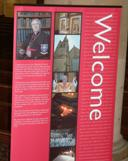 Interpretation boards around the Cathedral help visitors to understand the building and its purpose